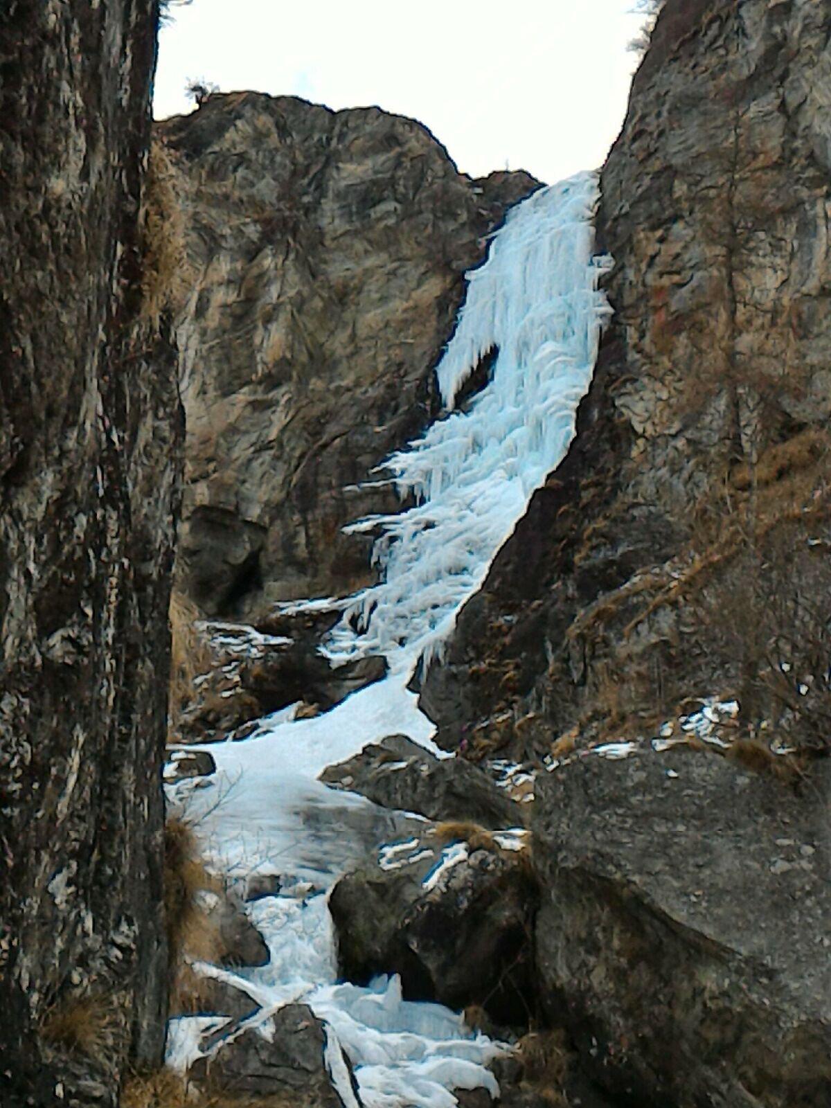 La cascata attuali condizioni