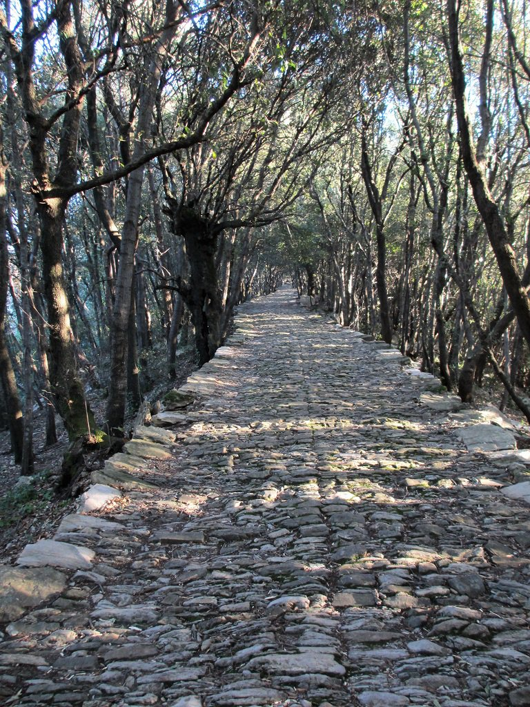 La bella strada di pietre