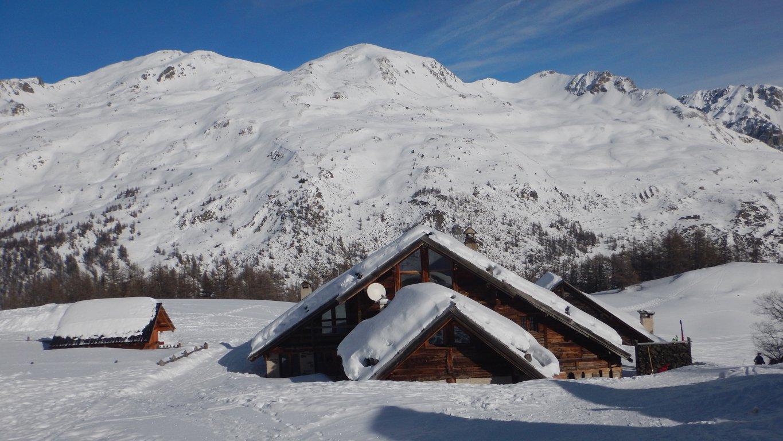 Situazione neve al Rifugio