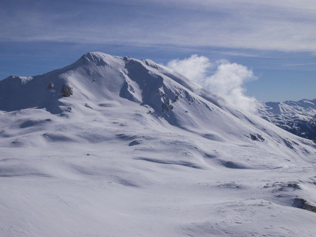 Monte Seguret visto dal colletto