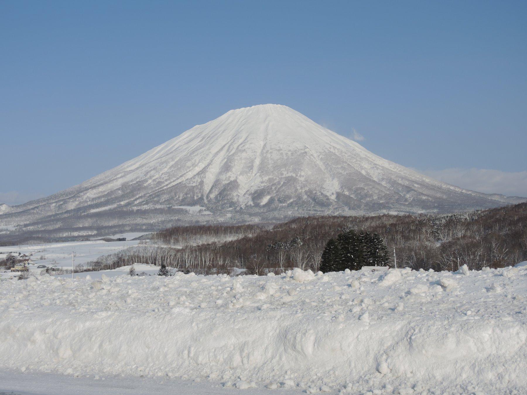 Il vulcano Yotei