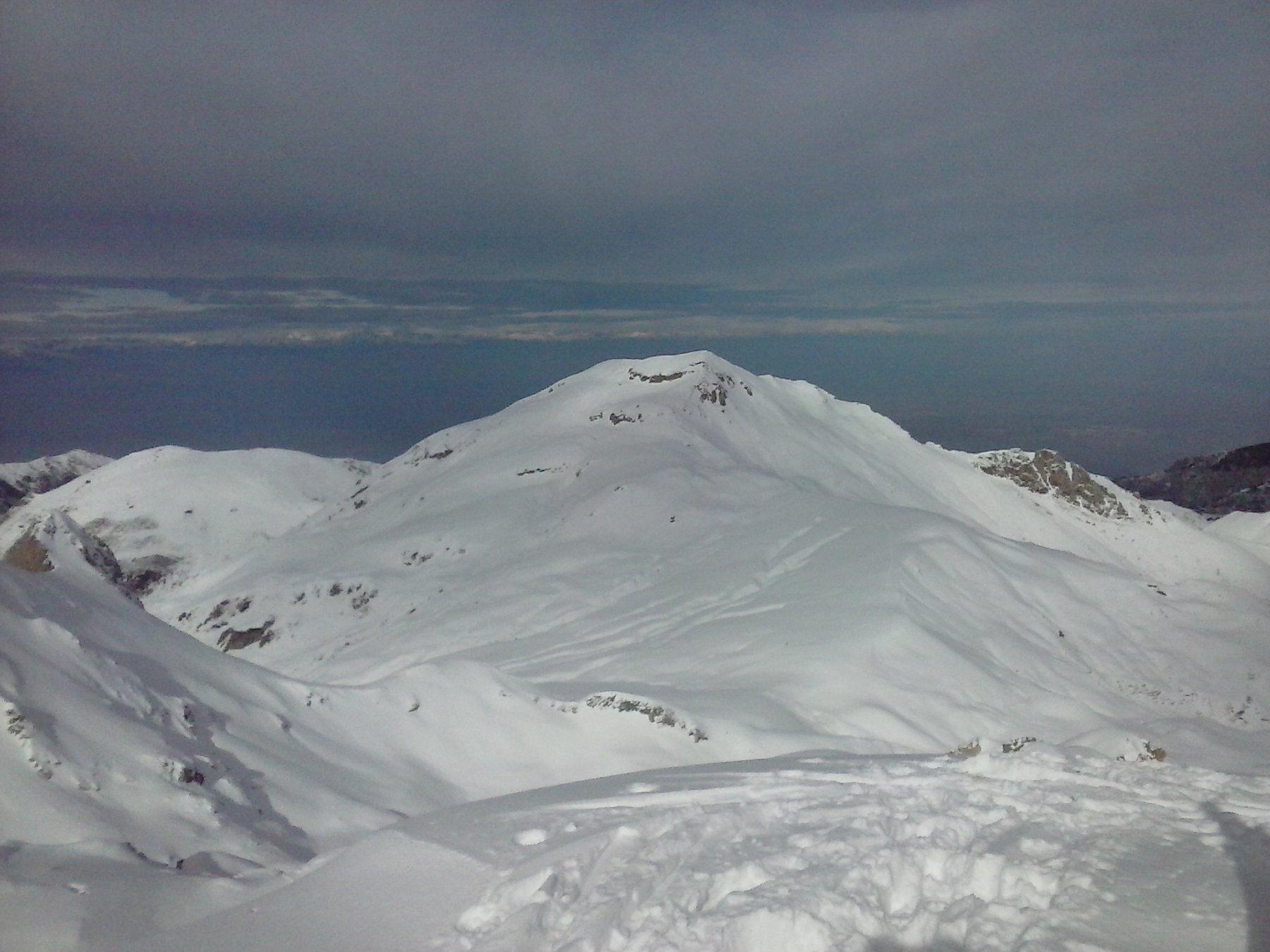 Mondole' e Durand (a sx in basso) visti dalla cima Seirasso