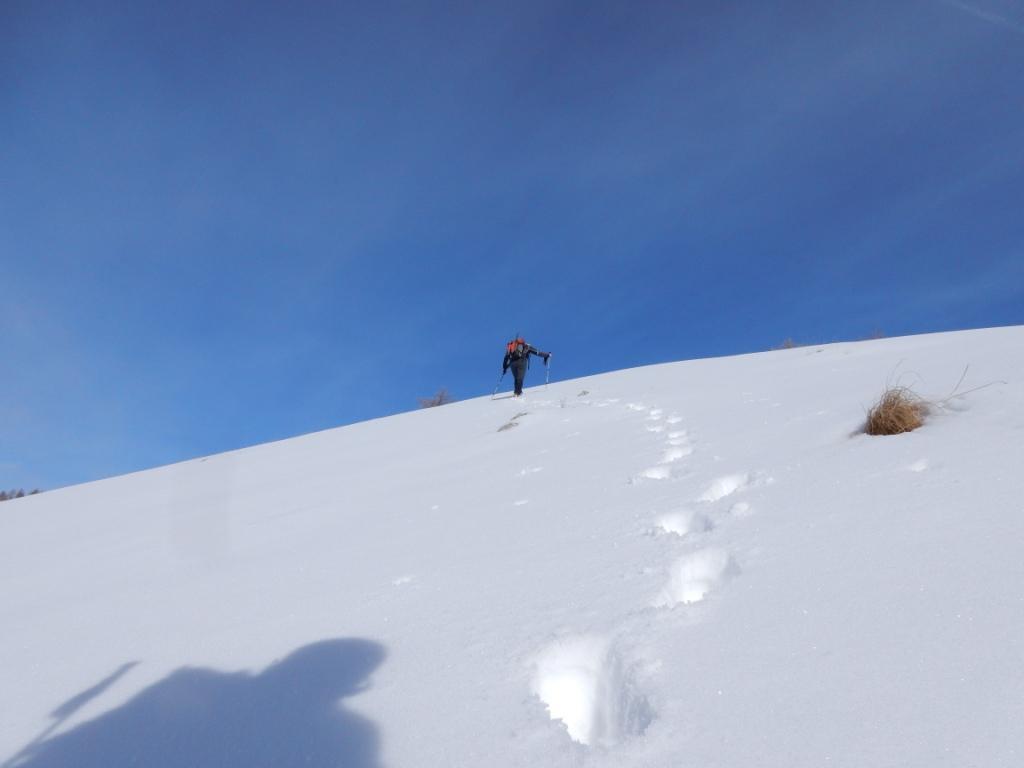 in direzione Roca Cuna
