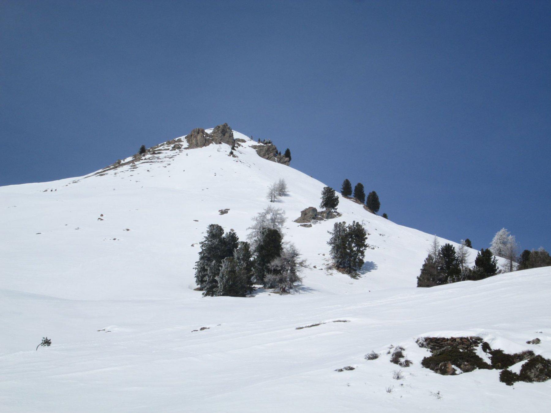 cima Fournier salendo da baite Chabaud
