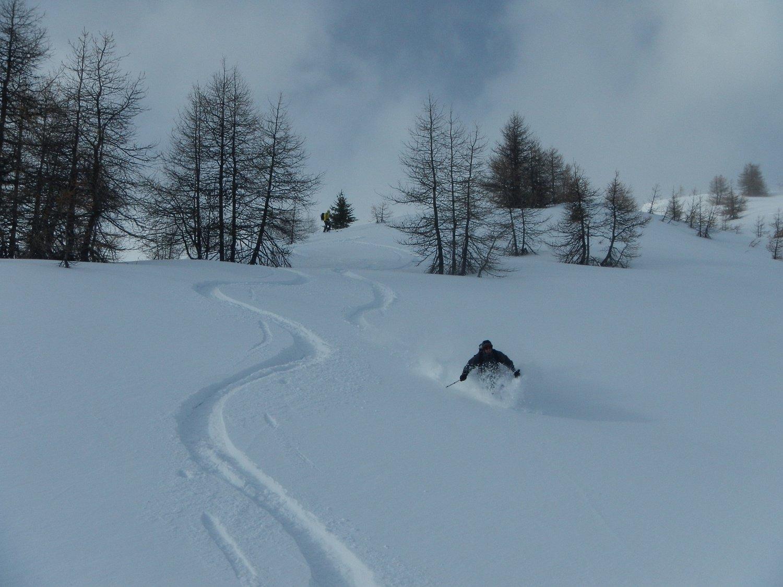 neve bella e abbondante