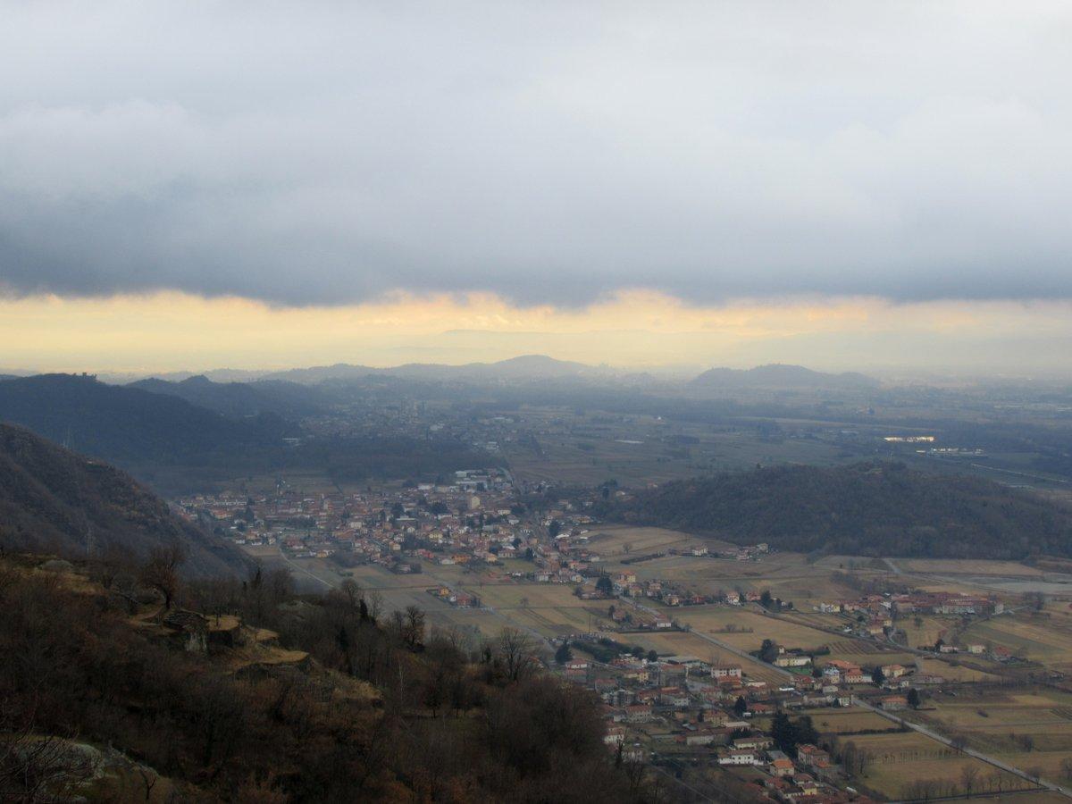Il panoramico tratto nei pressi di Lasina