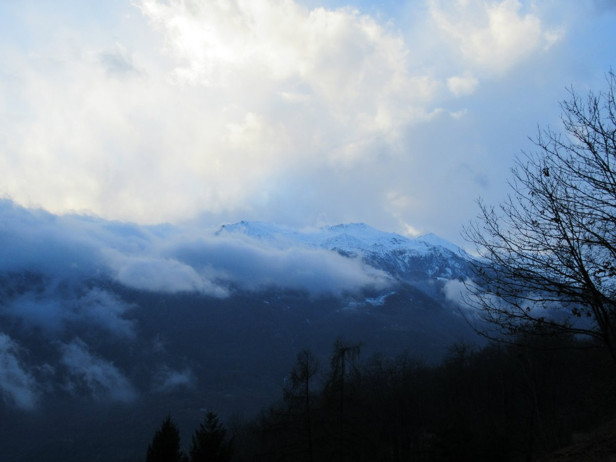 La neve in zona Gregorio - Punta Pian dei Francesi - Pianello