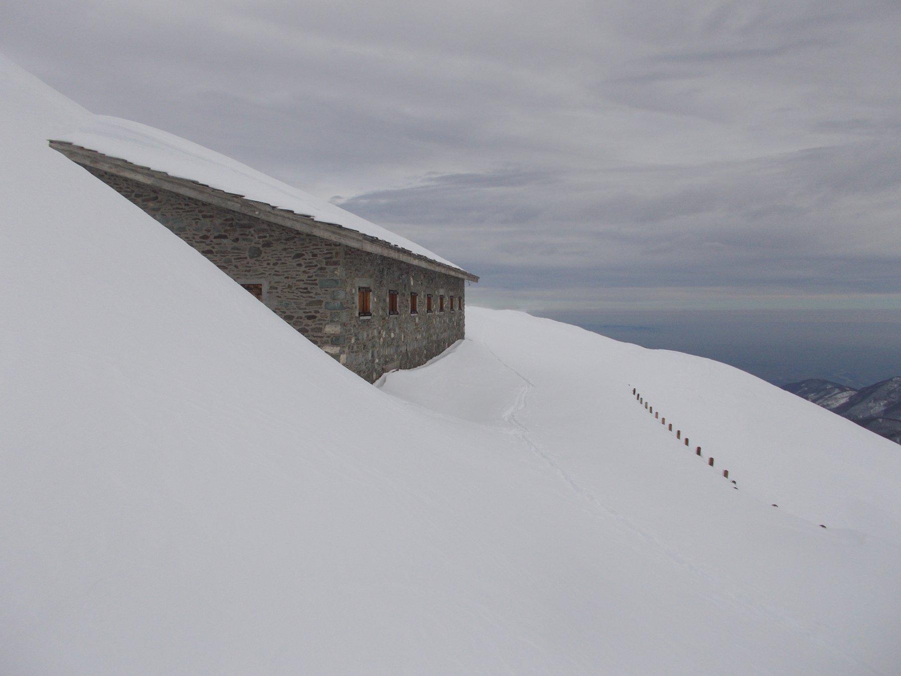 il rifugio Barant..al Col del Baracun..