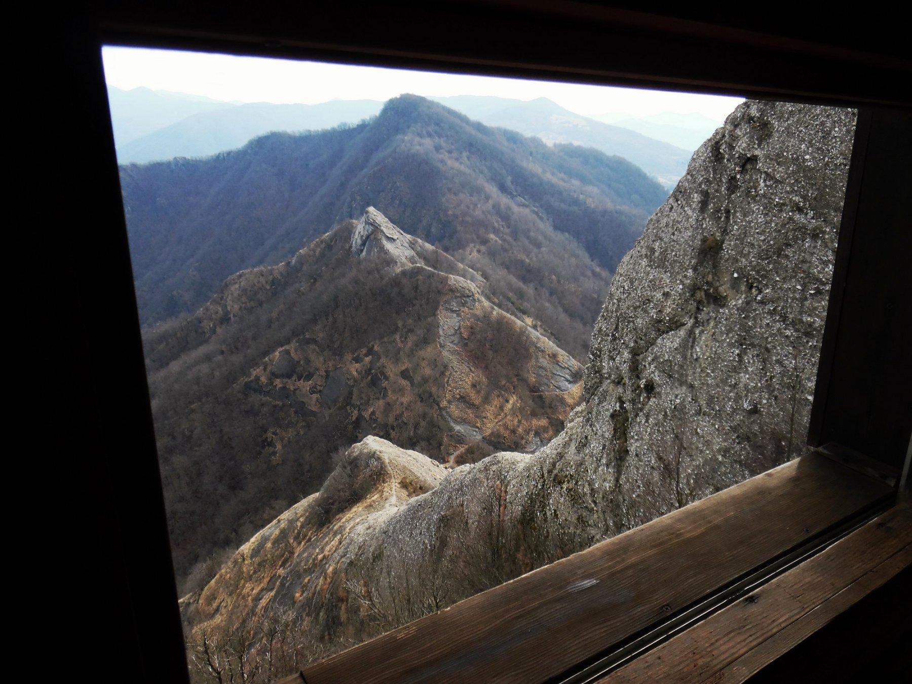 Monte Castello, Anchise, spalla Biurca sud da bivacco