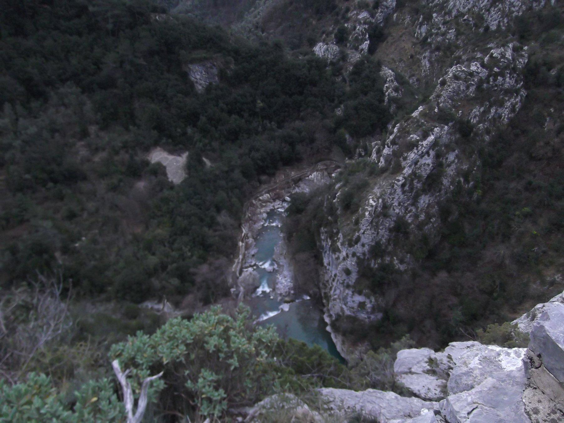 La Bevera dal Sentiero botanico.