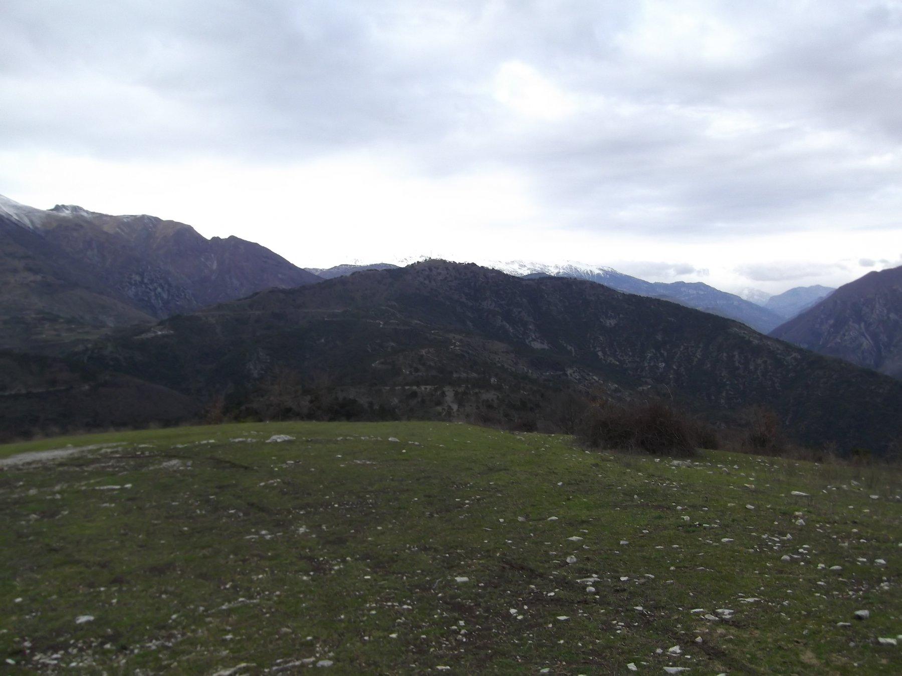Cime du Bosc dal Mont Grazian.