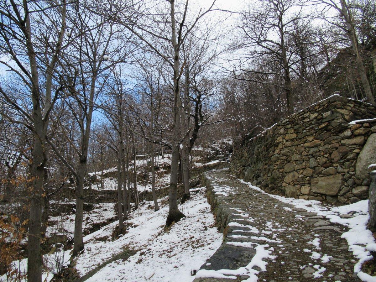 Neve quasi inesistente poco sopra Nomaglio