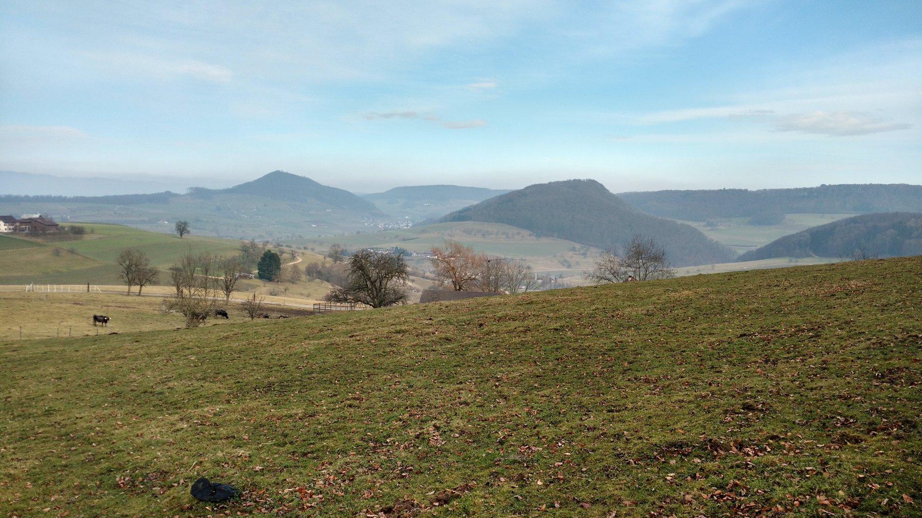 Liestal - Rheinfelden per lo Schleifenberg 2017-02-11