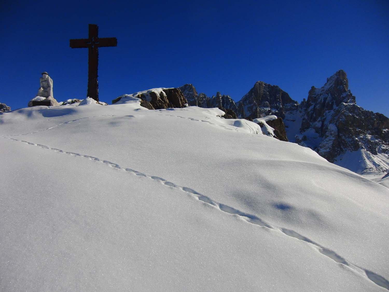 Castellazzo dalla Val Venegia 2017-02-15