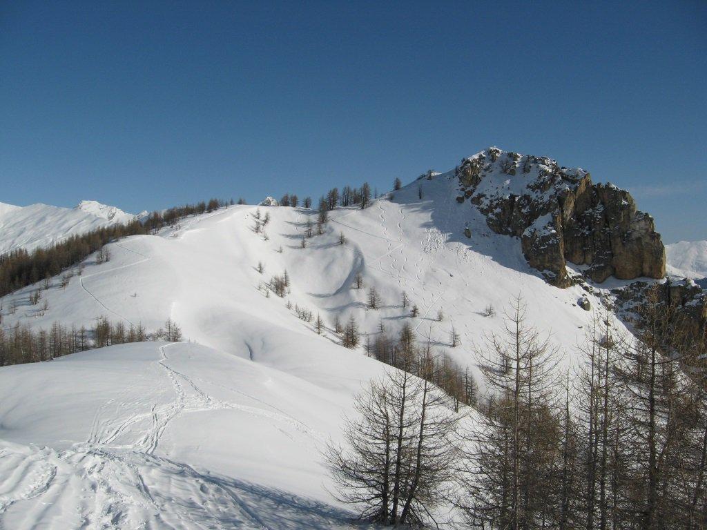 Monte Midia dal monte Estelletta