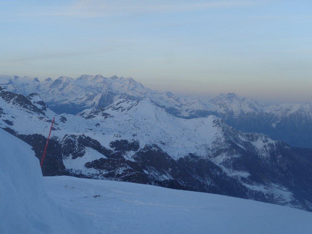 Monte Rosa al tramonto
