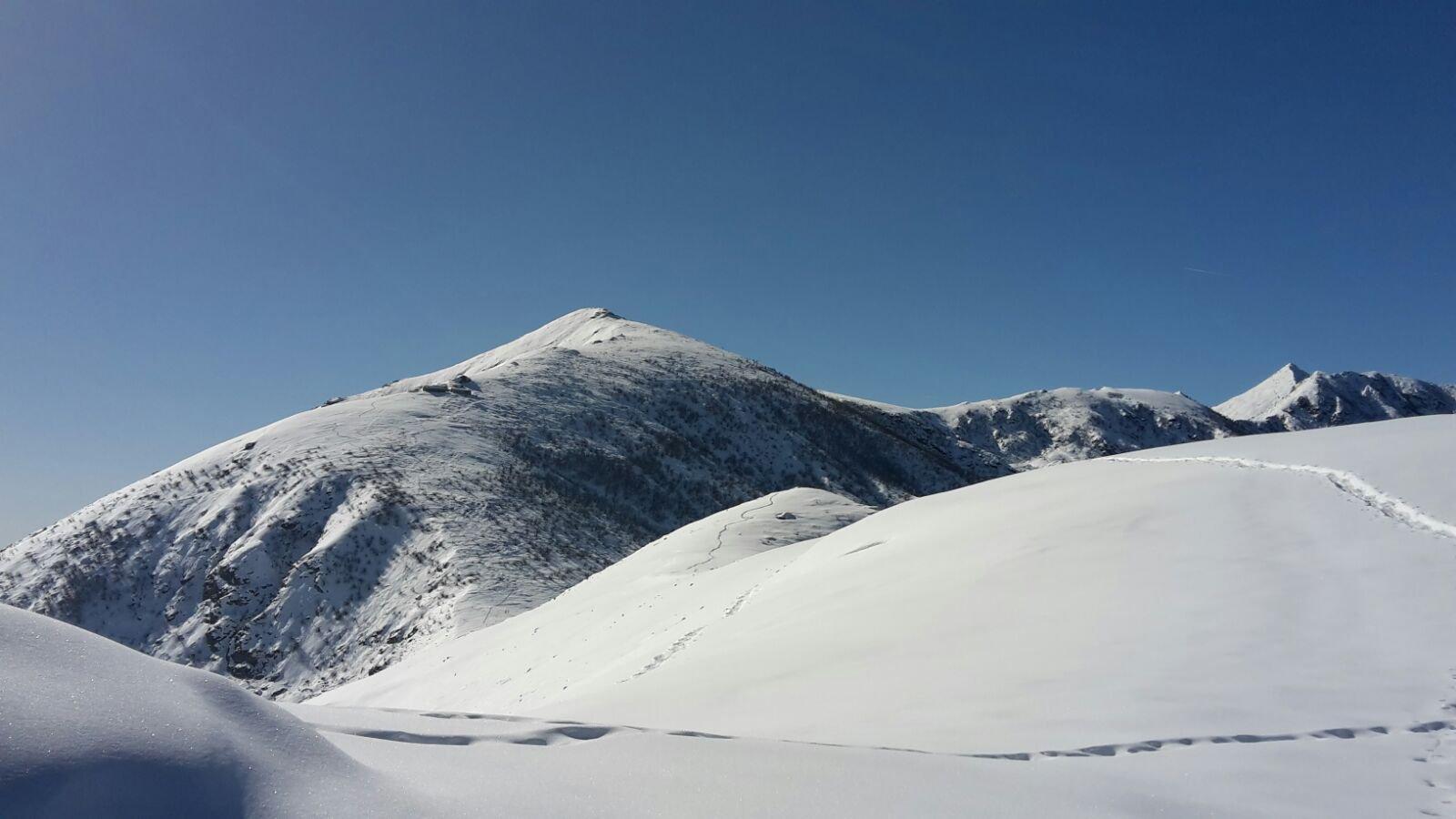 il monte Soglio