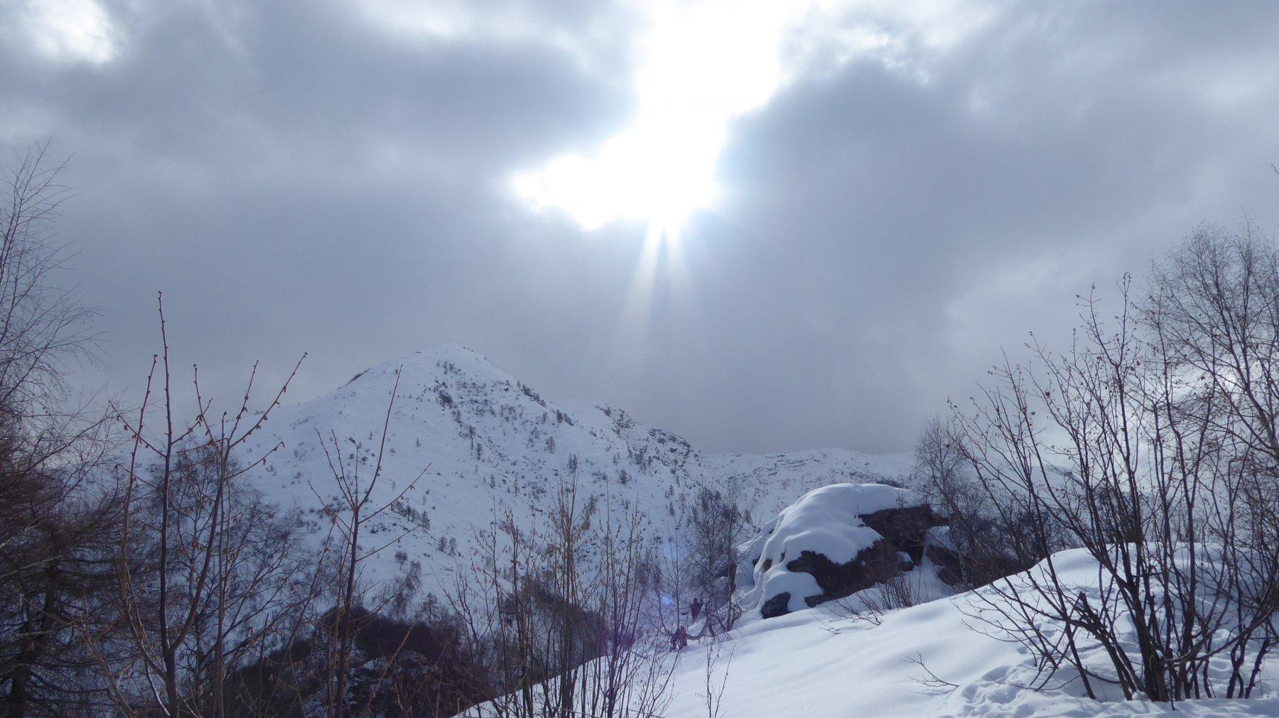 Arrivo al Der del Mont