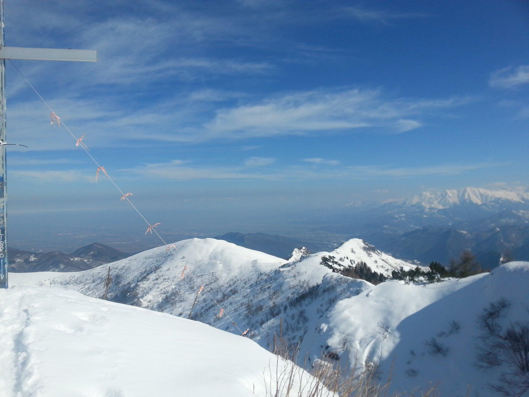Dalla vetta verso l'Alpe