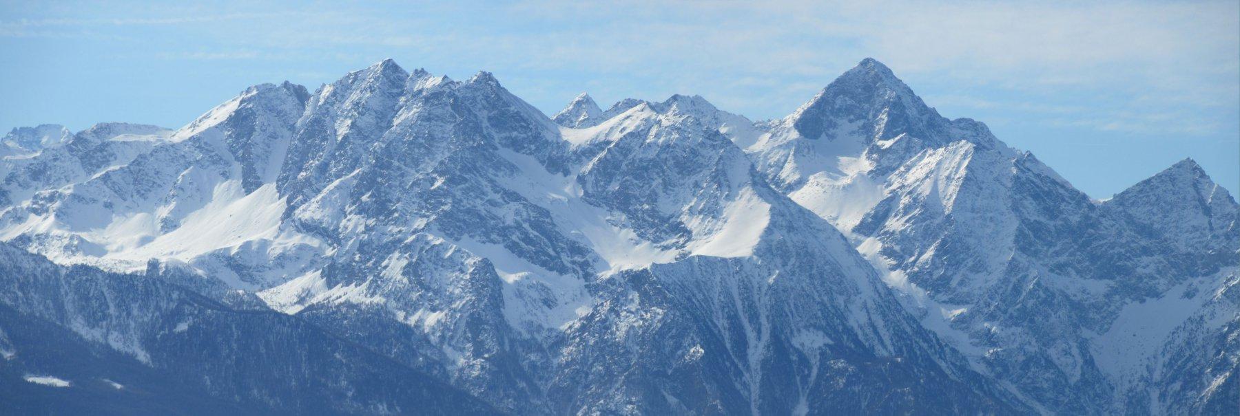 Panorama verso il Monte Emilius