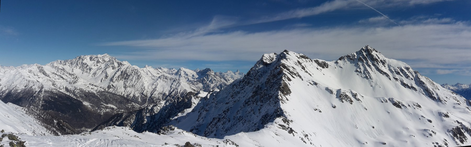 Grand Combin, Cervino e Fallère