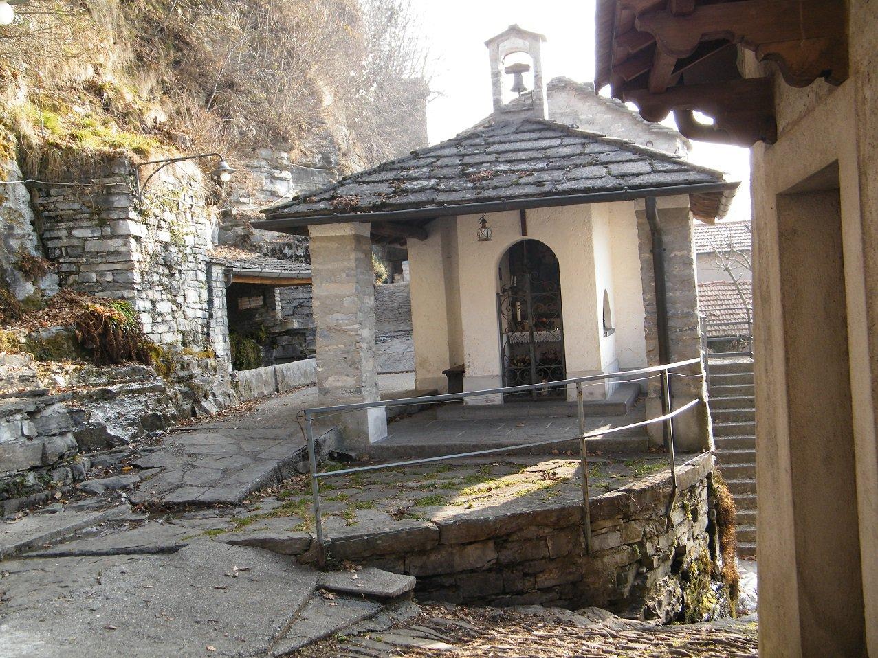La chiesetta di Monte di Carate