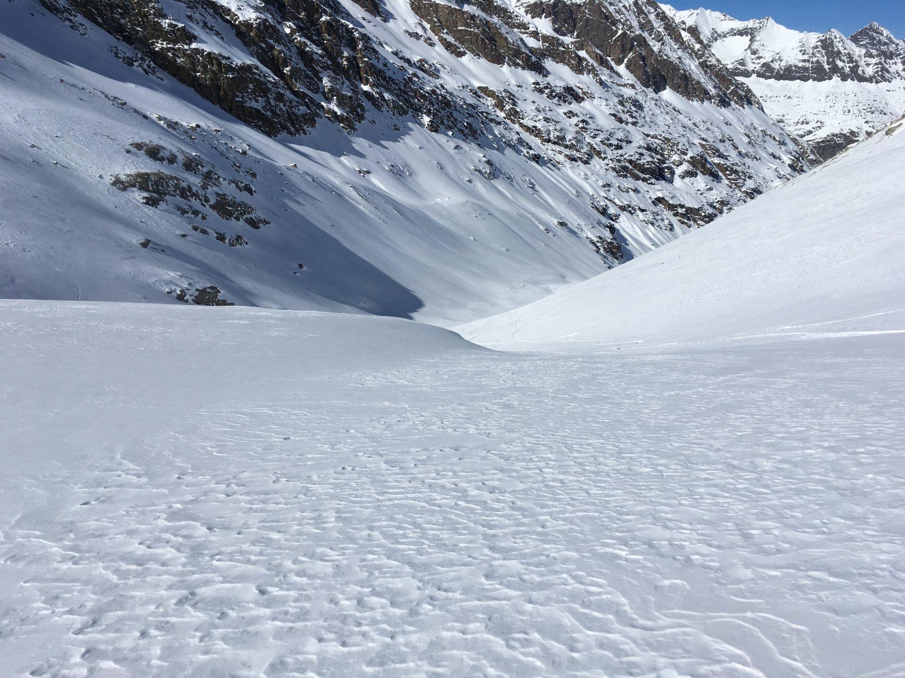 la neve migliore a metà percorso