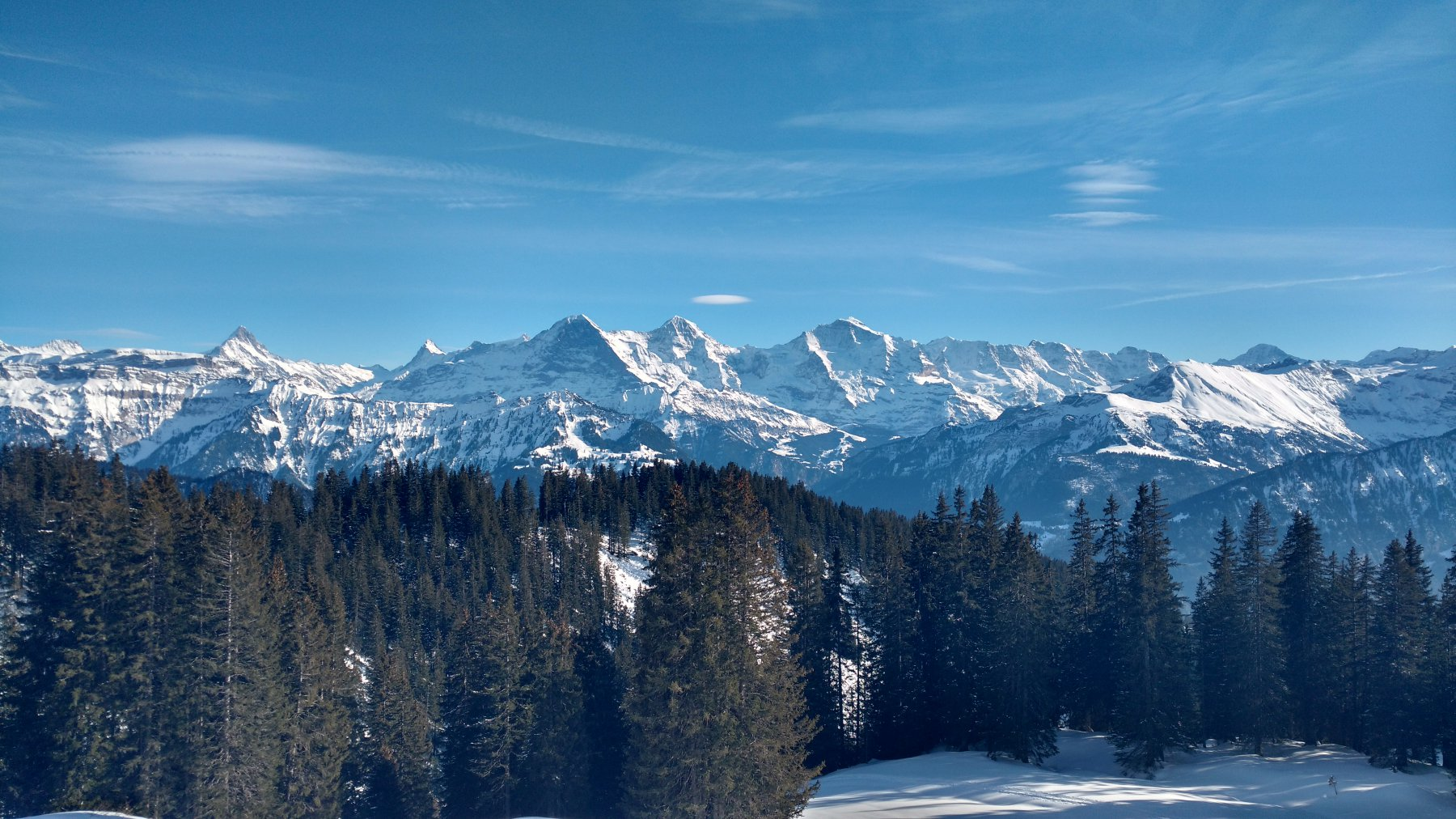 verso le grandi montagne dell'oberland