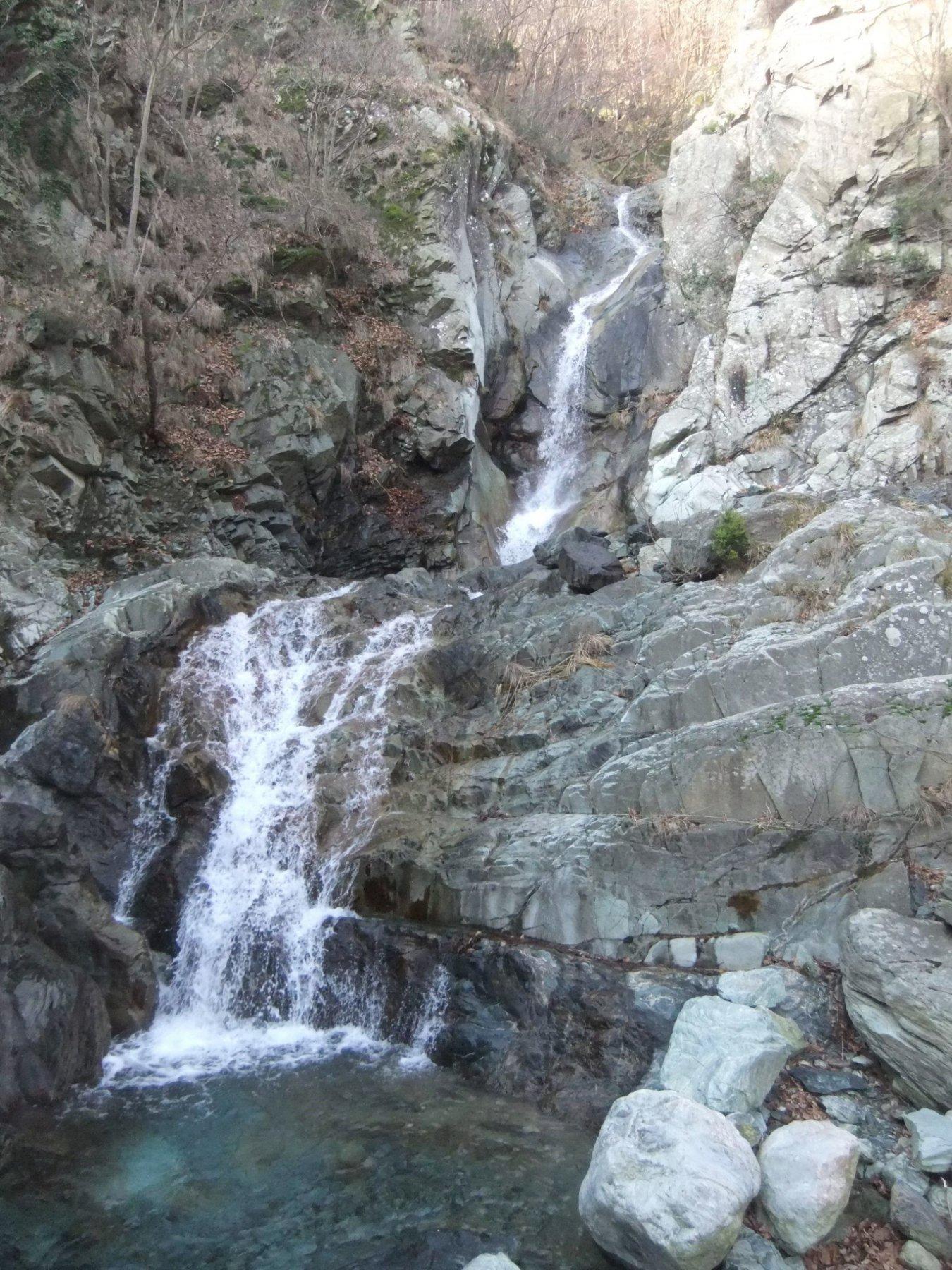 Brevissima deviazione per la cascata del Rio Gandolfi