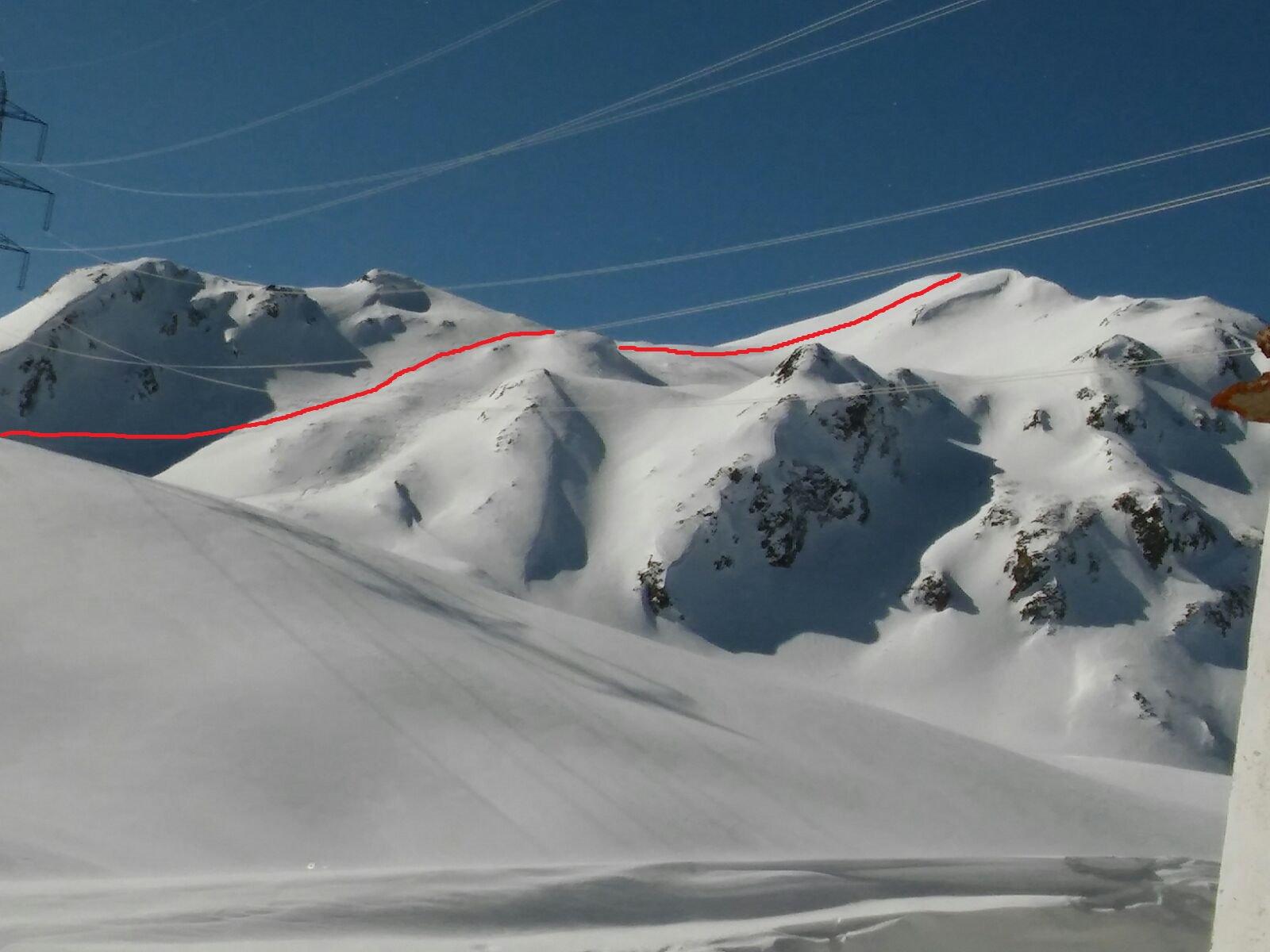 San Giacomo (Passo di) quota 2498 m da All'Acqua per il Versante Est 2017-02-19