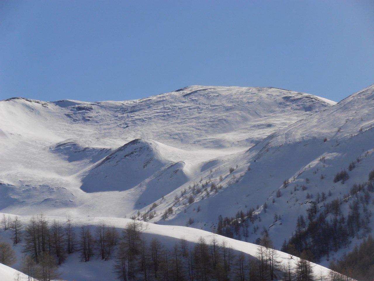 04 - Monte Vin Vert, parte alta rovinata dal vento