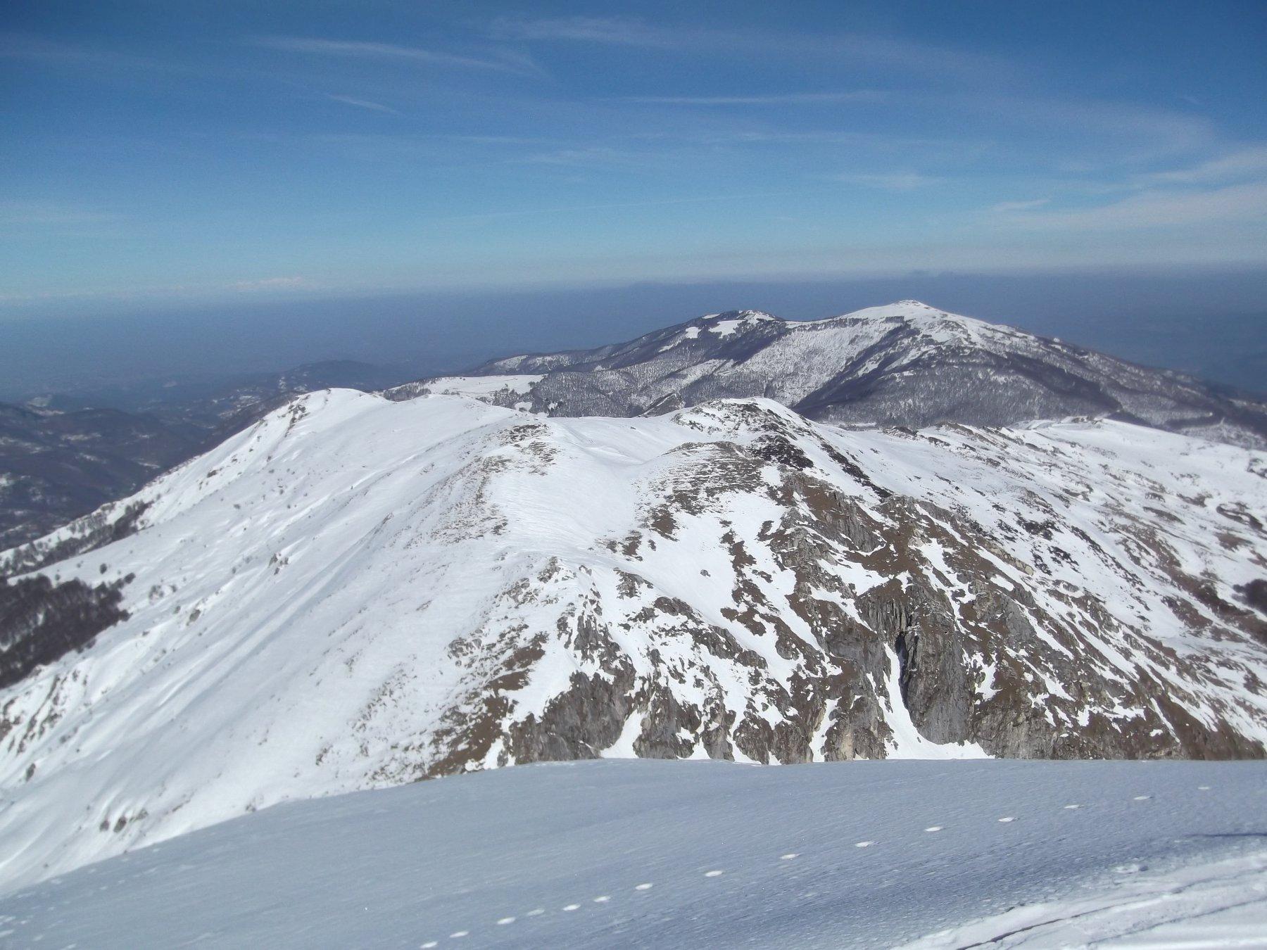 Monte Grosso visto dal Monte Antoroto.