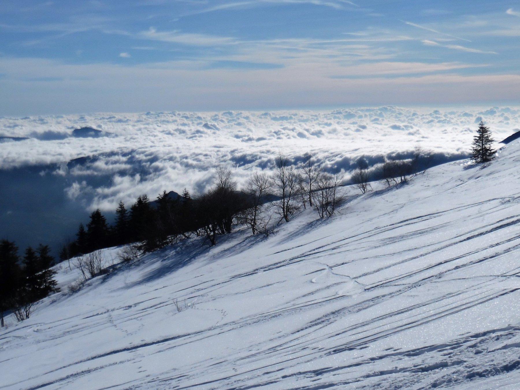 Il Marino e le nuvole liguri