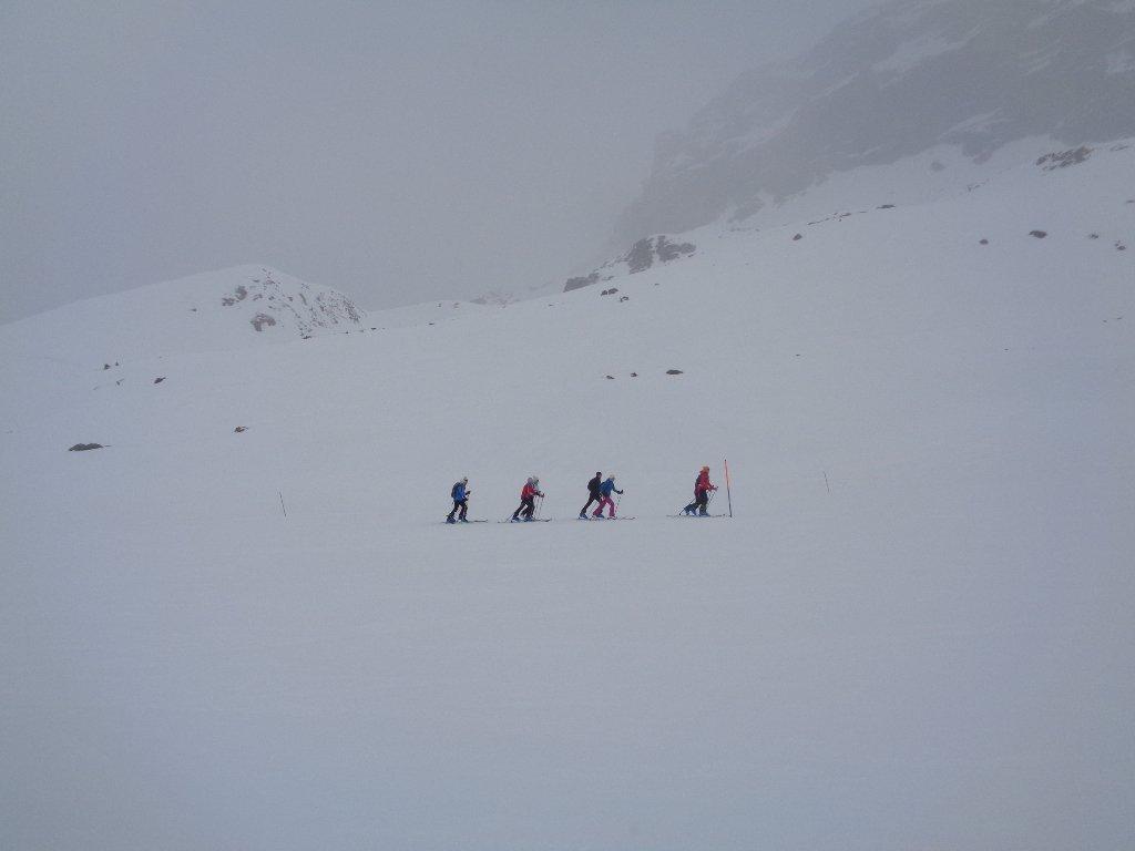 irriducibili sci alpinisti