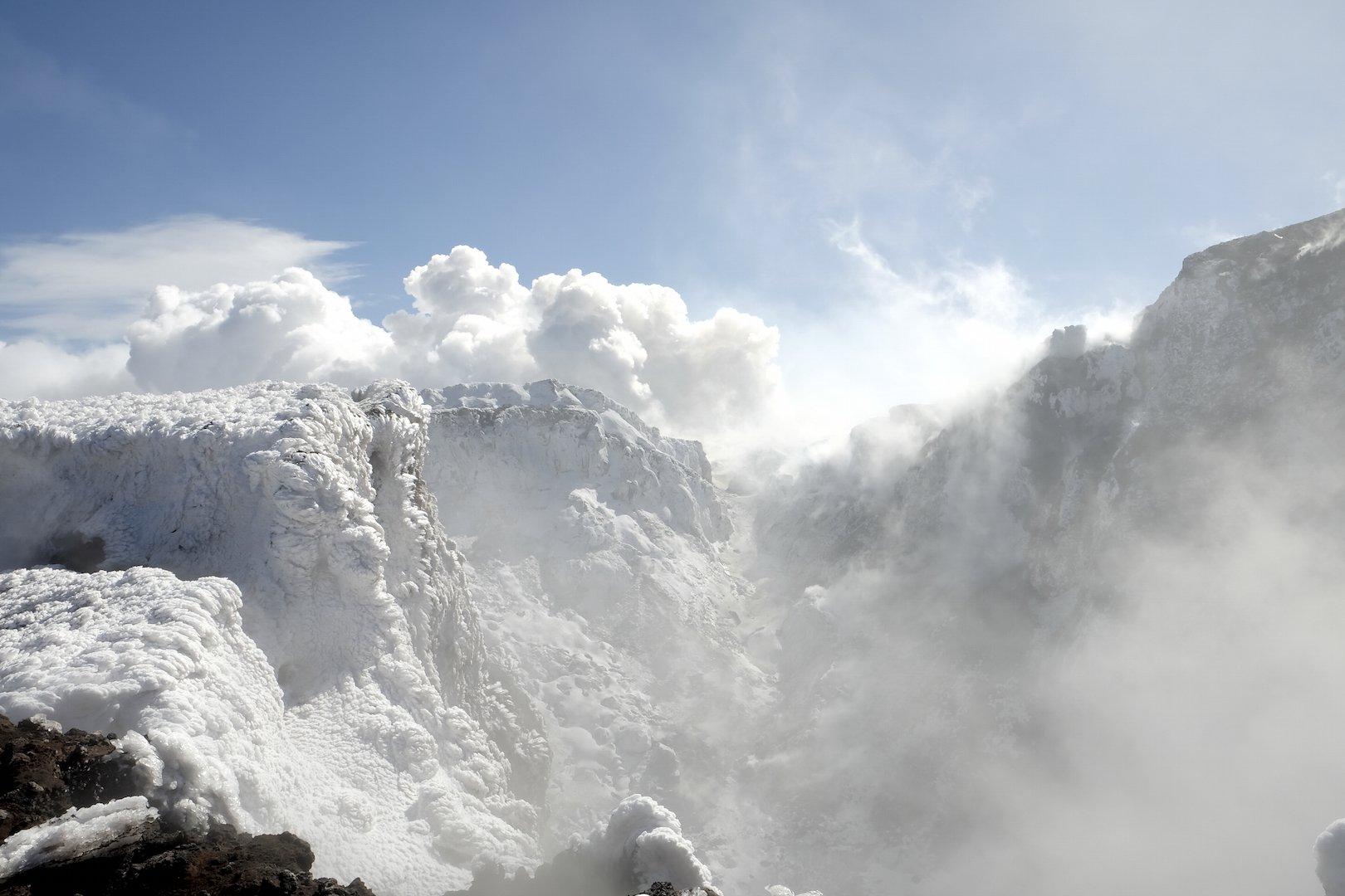 Etna Cratere Nord est