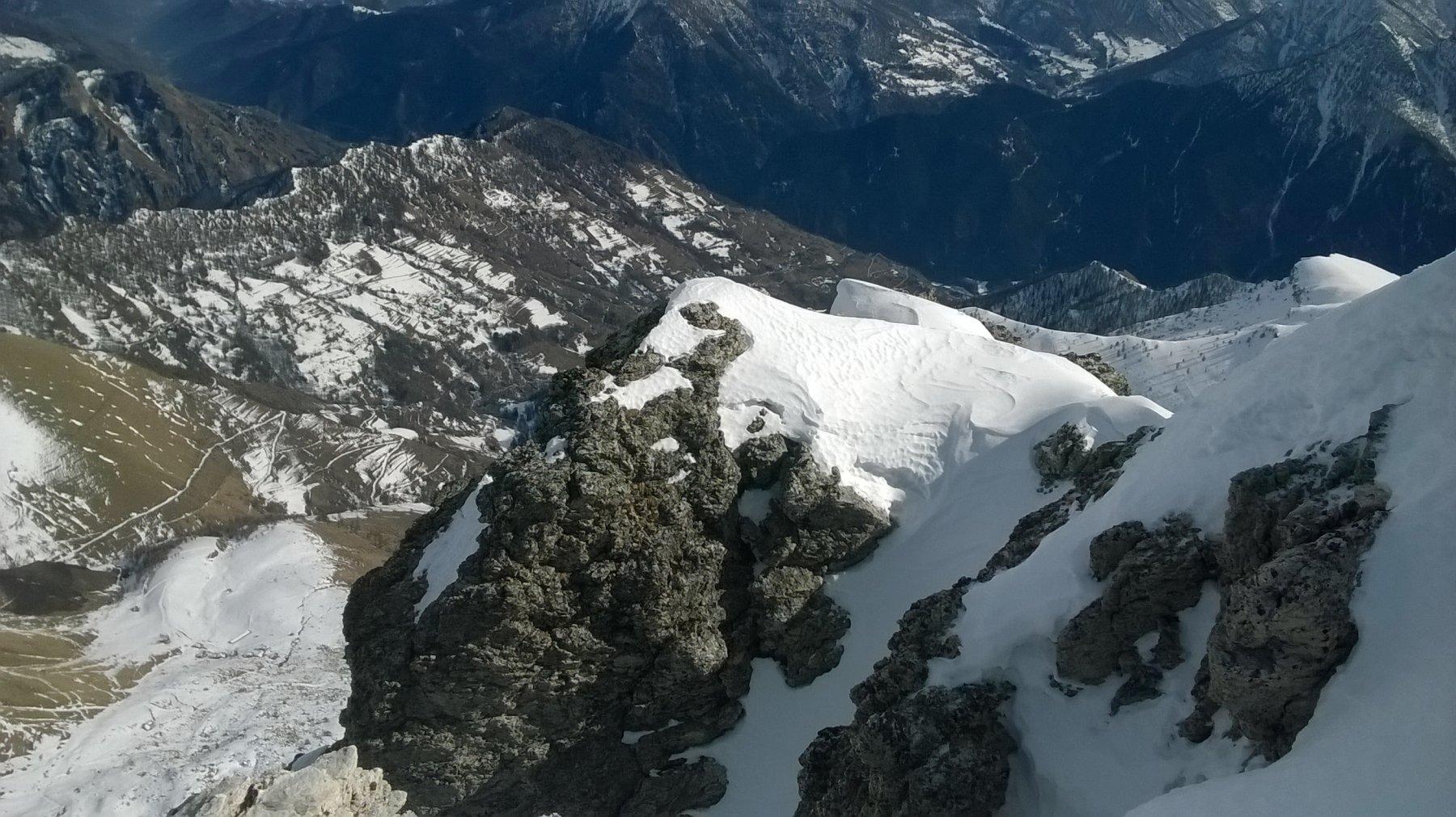 dalla cima il Vallone di S.Michele di Prazzo