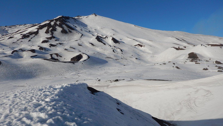 La Montagnola vista dal Cratere Silvestri