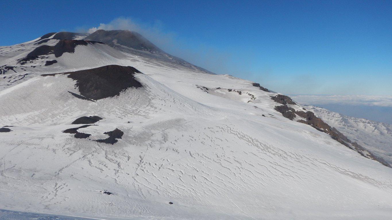 Cratere SE e NSE ed inizio Valle del Bove