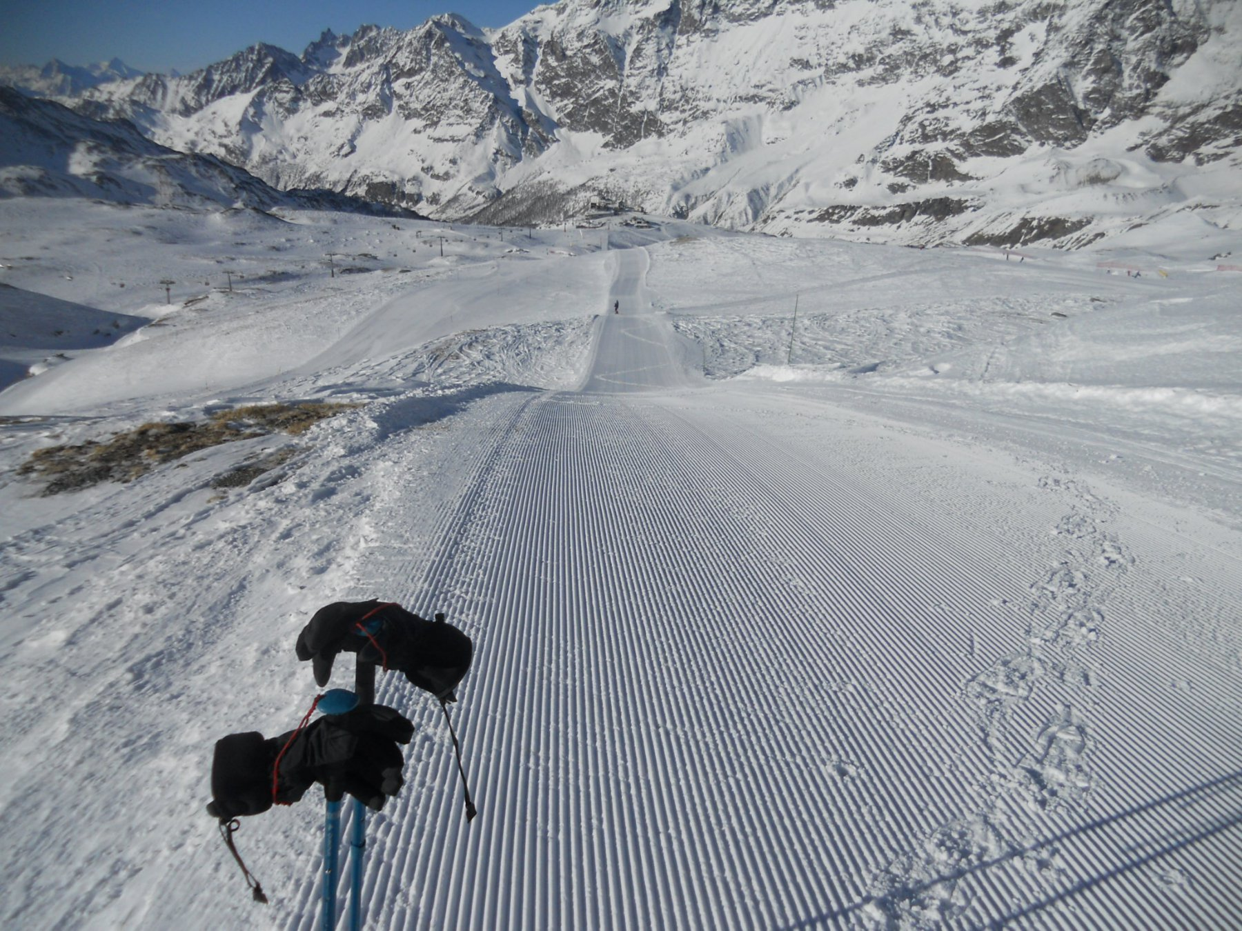 pista per ciaspole e ski alp