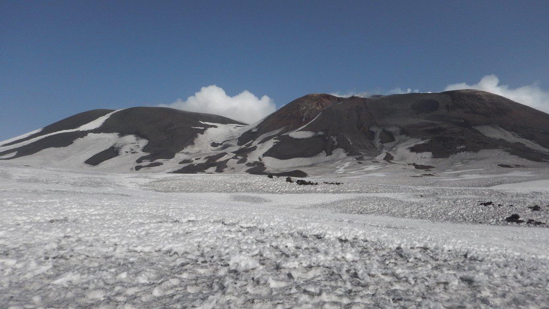 Crateri Sommitali: SE e Centrale con la Bocca Nuova