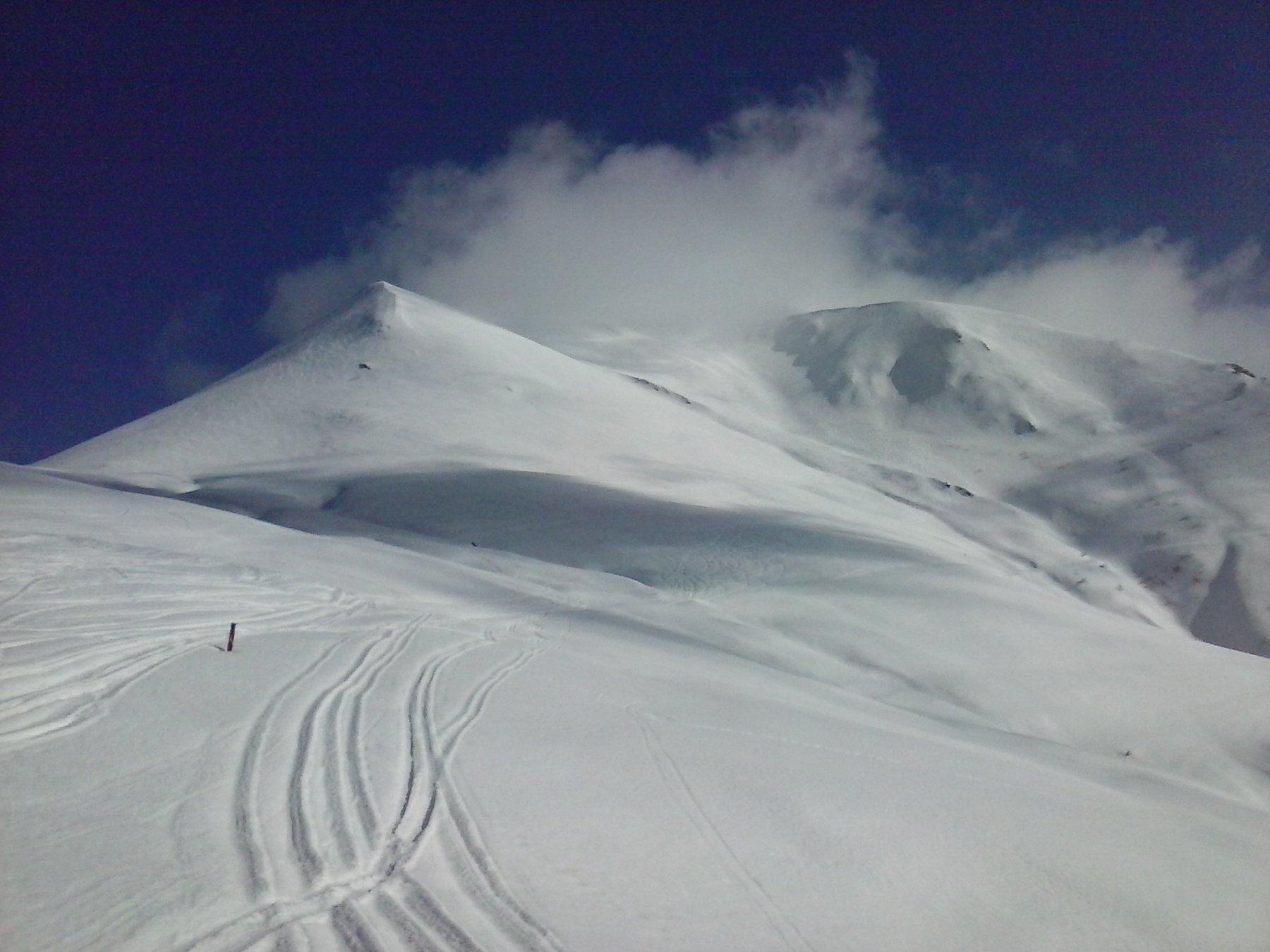Mondolè (Monte) da Artesina per la Colla Bauzano 2017-02-25