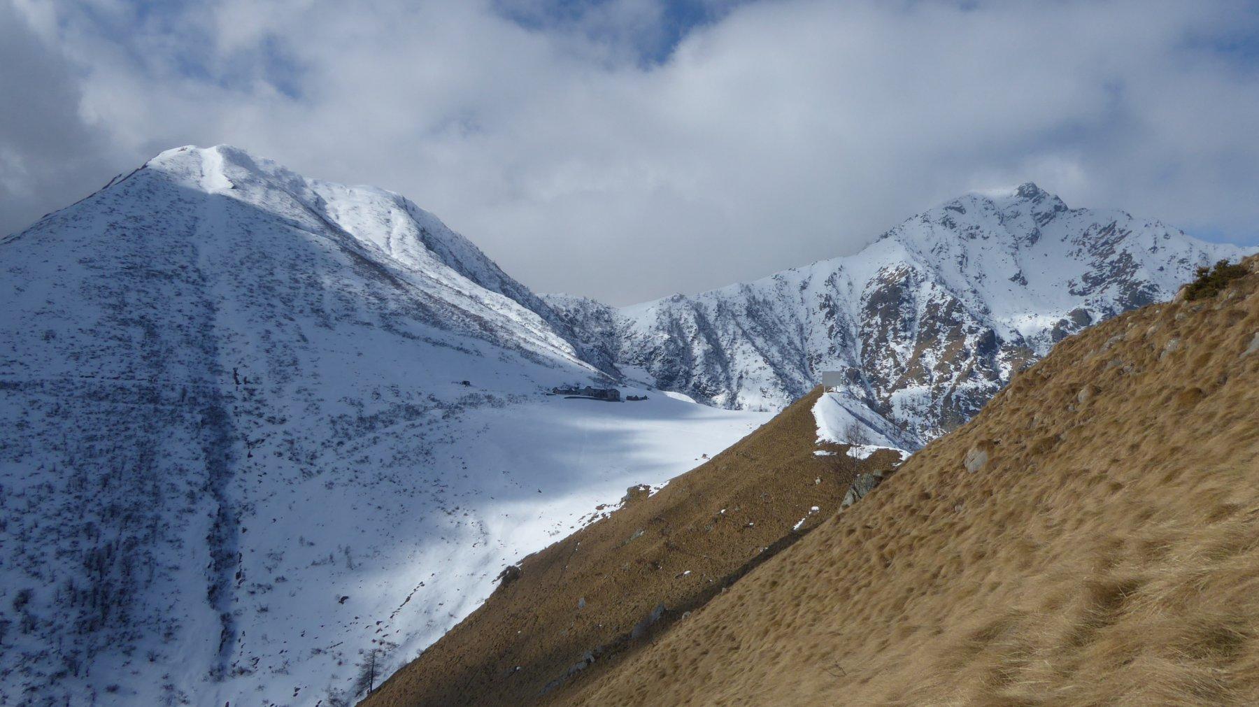 Cima Rosta, Alpe Sionei e Punta del Vallone