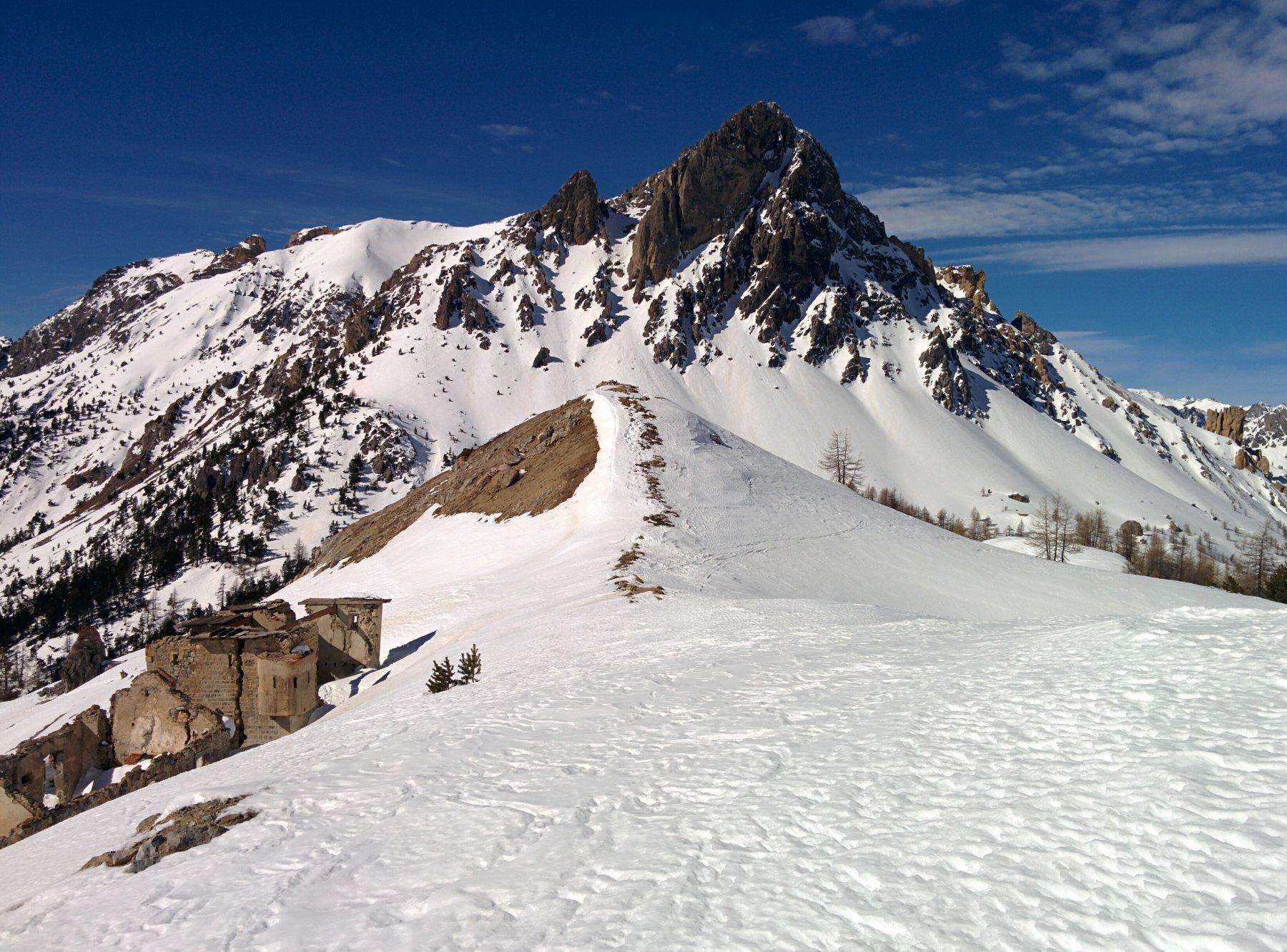 Guglia di Mezzodì dal Col des Acles