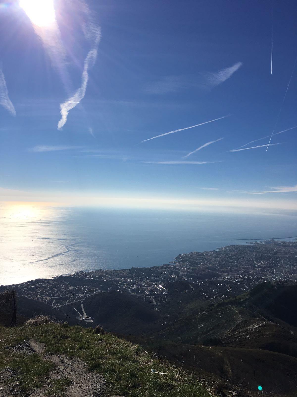 Fasce (Monte) da Bavari, anello per i monti Riega , Proie Bastia 2017-02-26