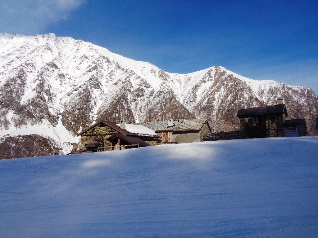 Alpe Miandette, 1700m