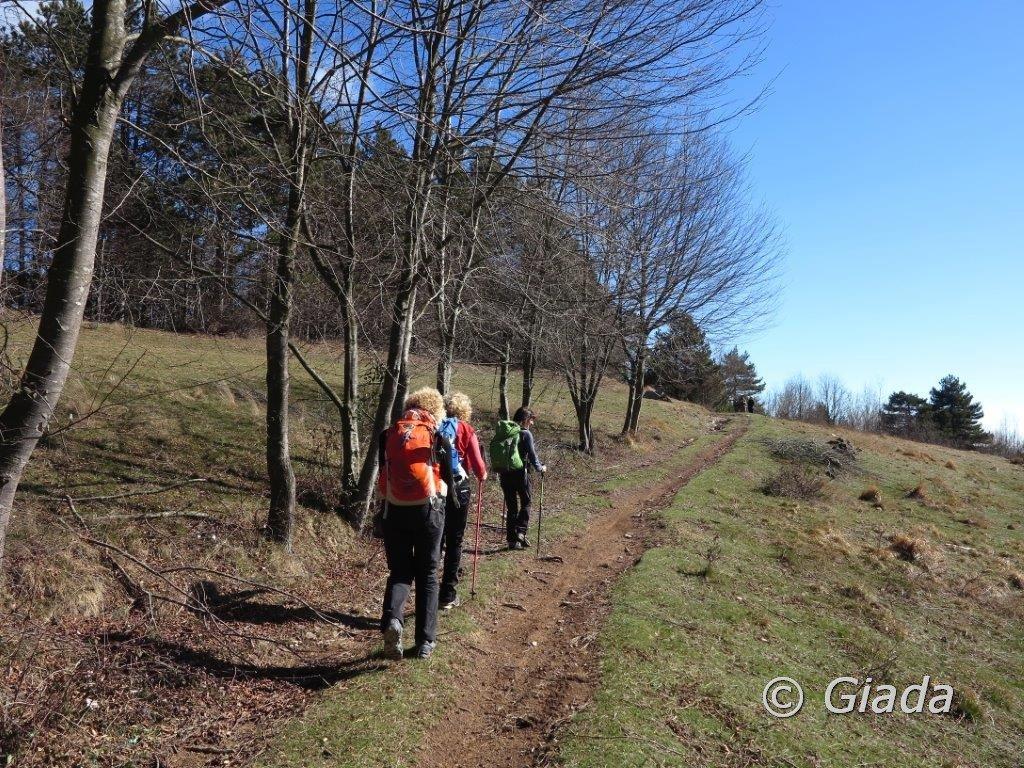 Sul sentiero verso la Rocca del Prete