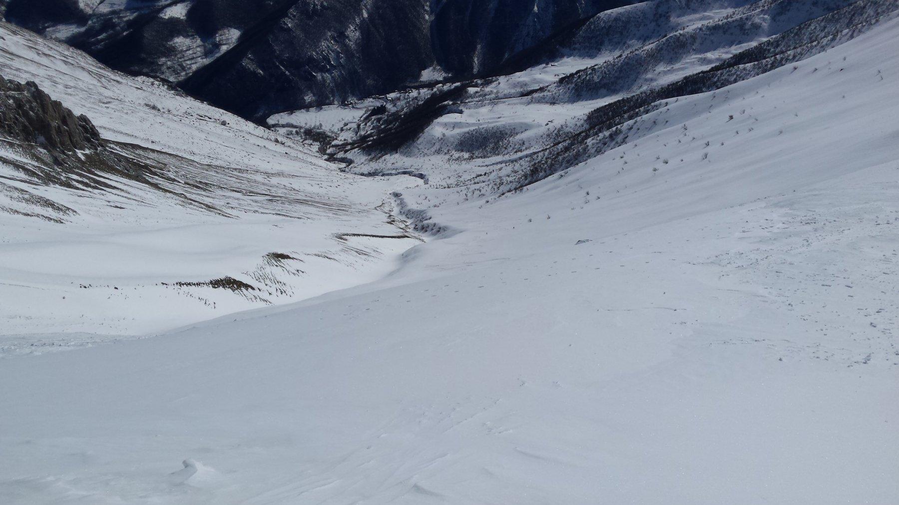 versante opposto del monte (Palanfrè)
