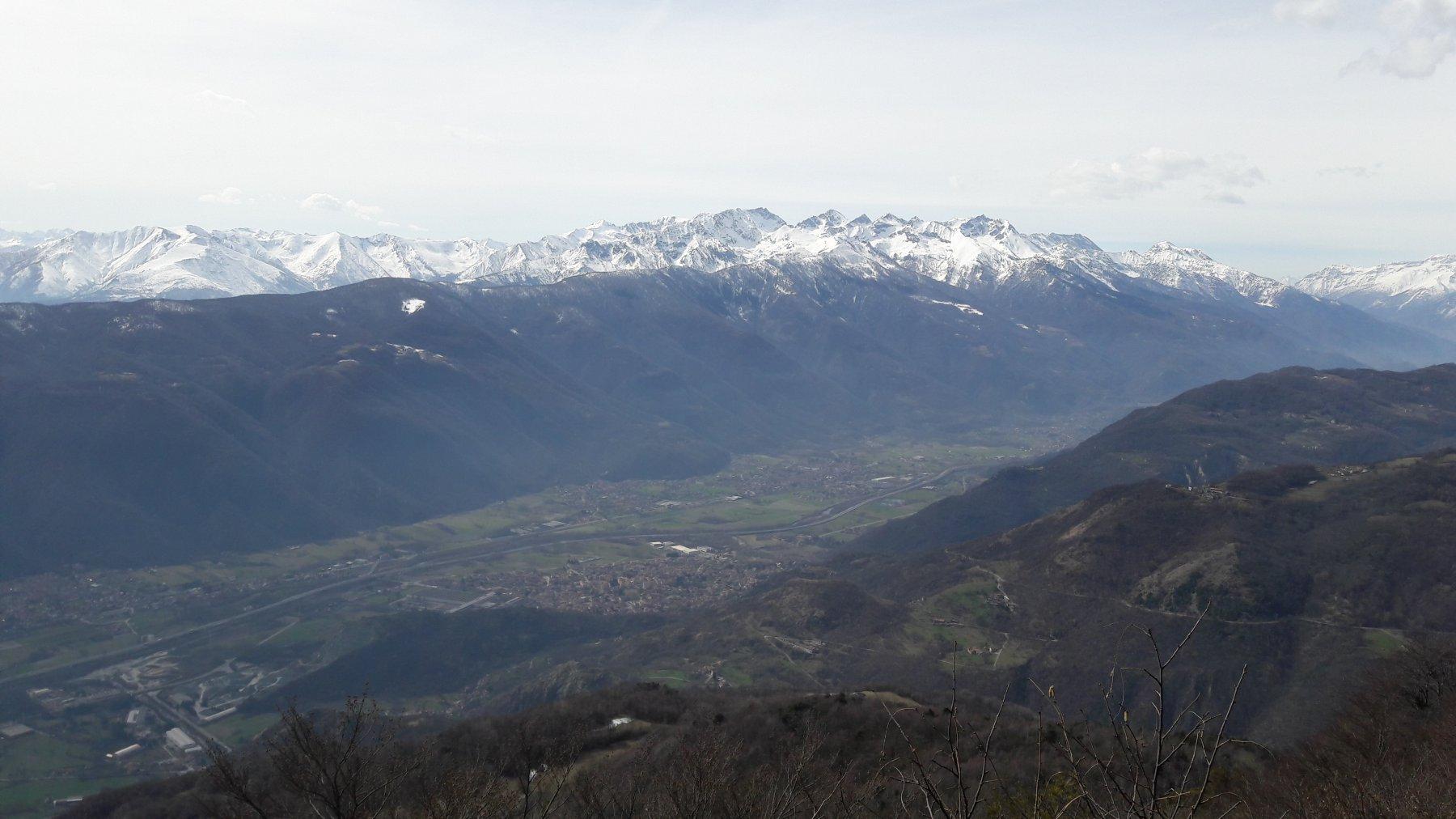 Panorama sulla valle