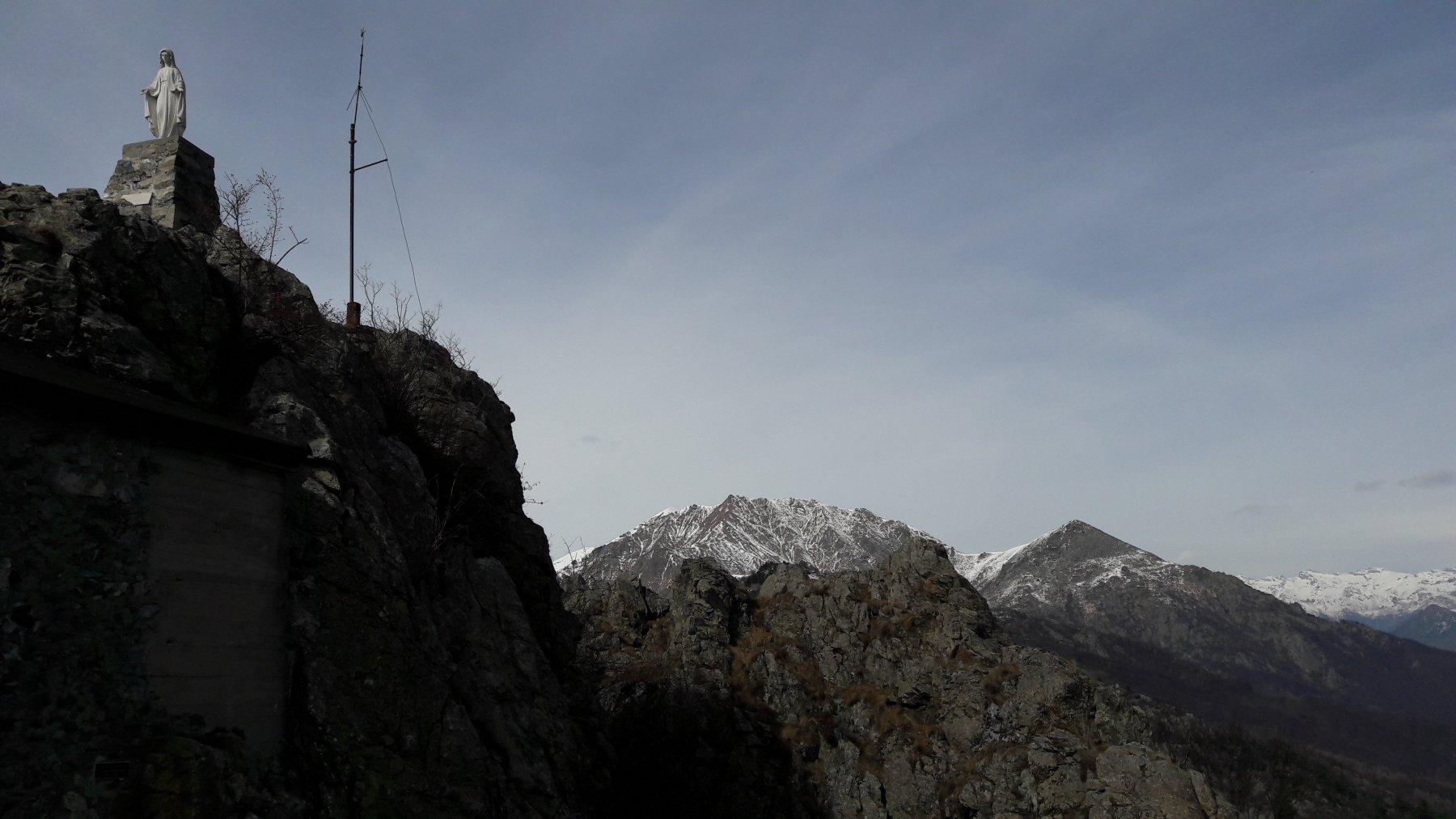Da sx, la cima, il Civrari e monte Rognoso