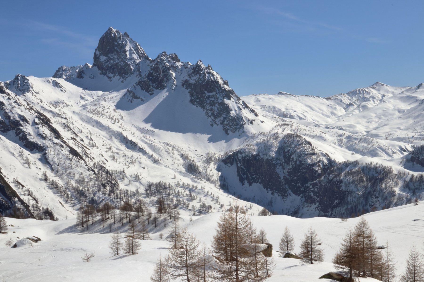 Panorama sulla Rocca La Meja
